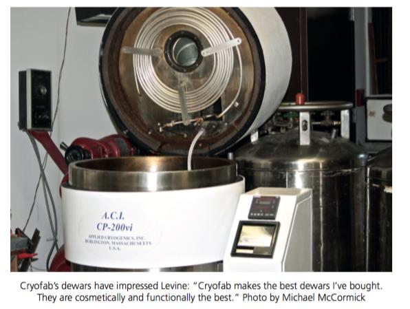 best cryogenic manufacturer, says customer