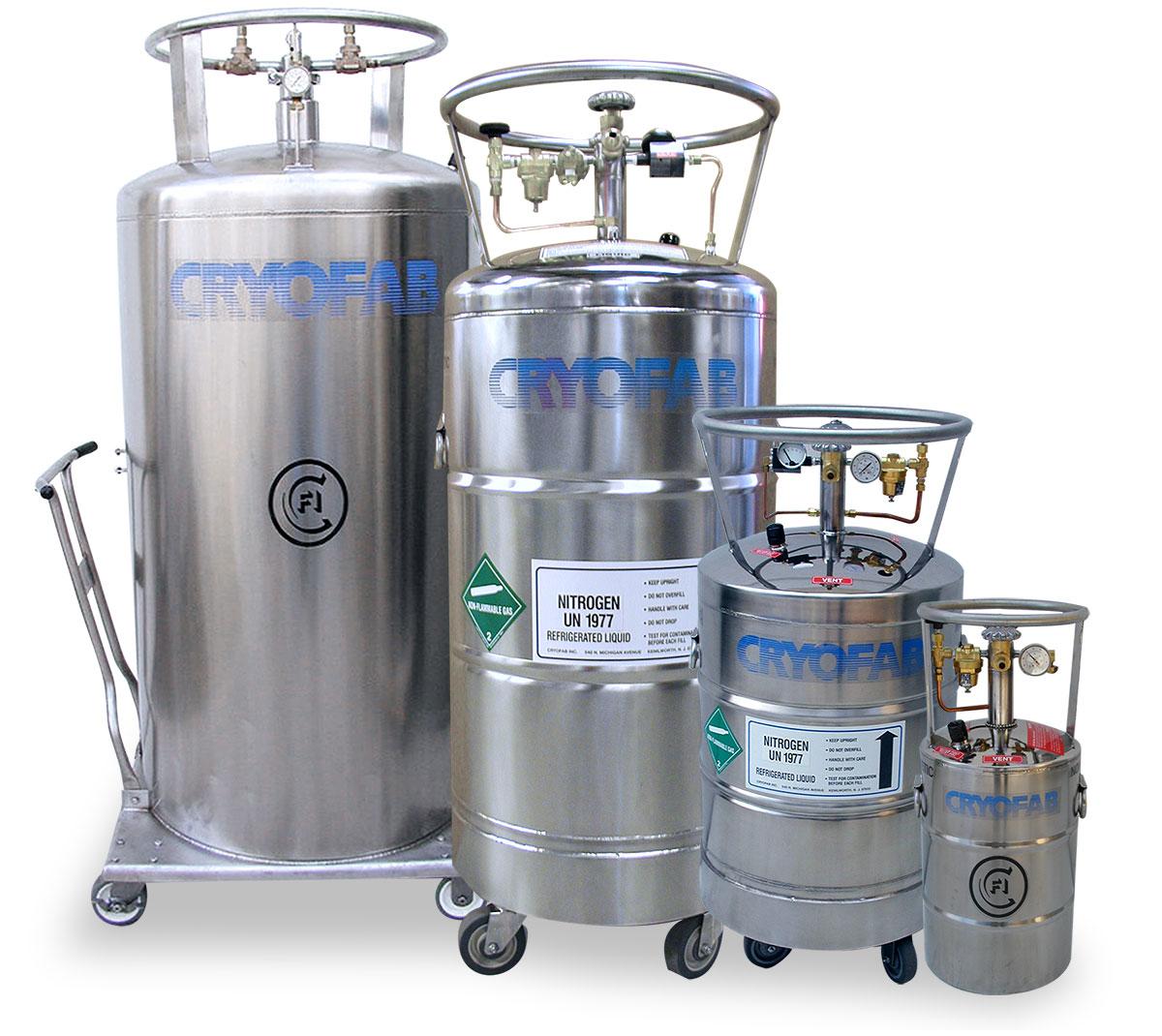 liquid nitrogen (LN2) storage