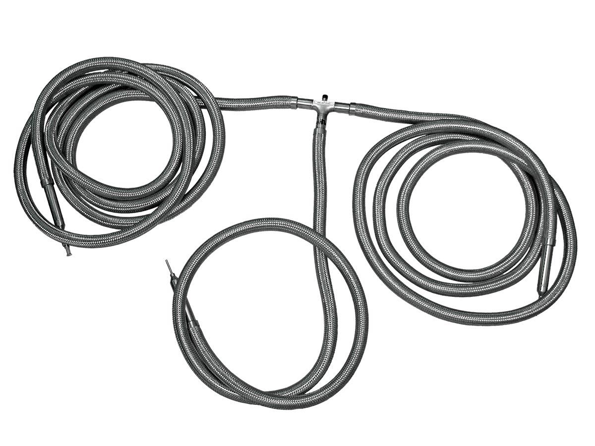 flexible liquid nitrogen transfer hose